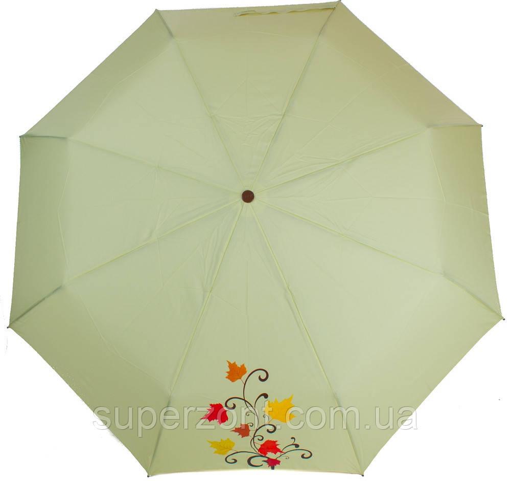 Качественный женский зонт механический AIRTON (АЭРТОН) Z3511NS-4185 Зеленый