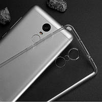 Чехол-накладка Ultra Thin Silicon Remax 0.2 mm Xiaomi Redmi Note 4 Black (Note 4X)