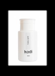 Tips Off Kodi Professional (жидкость для снятия гель-лака / акрила), 160 мл