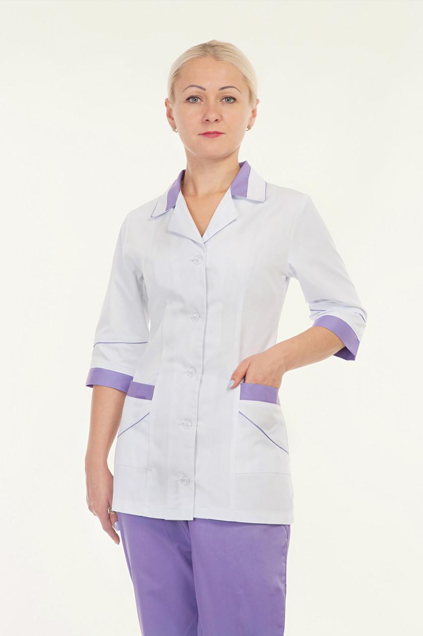 Медицинский женский костюм комбинированый