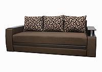 Диван Garnitur Граф темно-коричневый 235 см