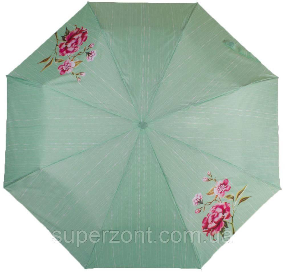 Бирюзовый женский механический зонт Airton, Z3511-5187
