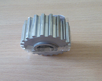 Шкив коленвала ВАЗ 2110 зубчатый (пр-во ДААЗ)