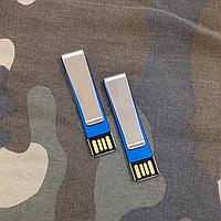 USB Flash 16 Gb с зажимом + гравировка на заказ!