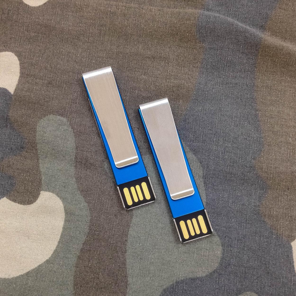 "USB Flash 16 Gb с зажимом + гравировка на заказ!  - Интернет-магазин ""GravPresent"" в Харькове"