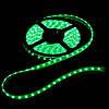 Лента светодиодная зеленая LED 3528 Green 60RW - 5 метров в силиконе!Акция