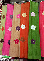 Плед из бамбука с вышивкой 200*220