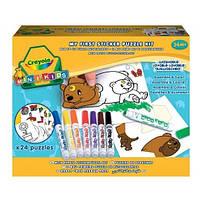 Набор для творчества Crayola Мой первый пазл-наклейка, 81-8113