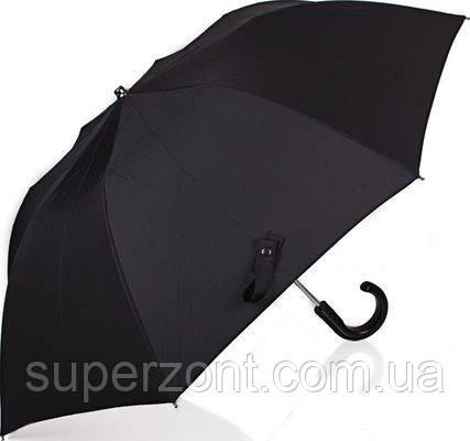 Практичный мужской зонт полуавтомат GUY de JEAN (Ги де ЖАН) FRH12001 черный