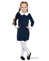 Платье школьное (темно-синий)