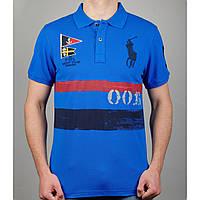 Футболка-поло RALPH LAUREN 20850 синяя