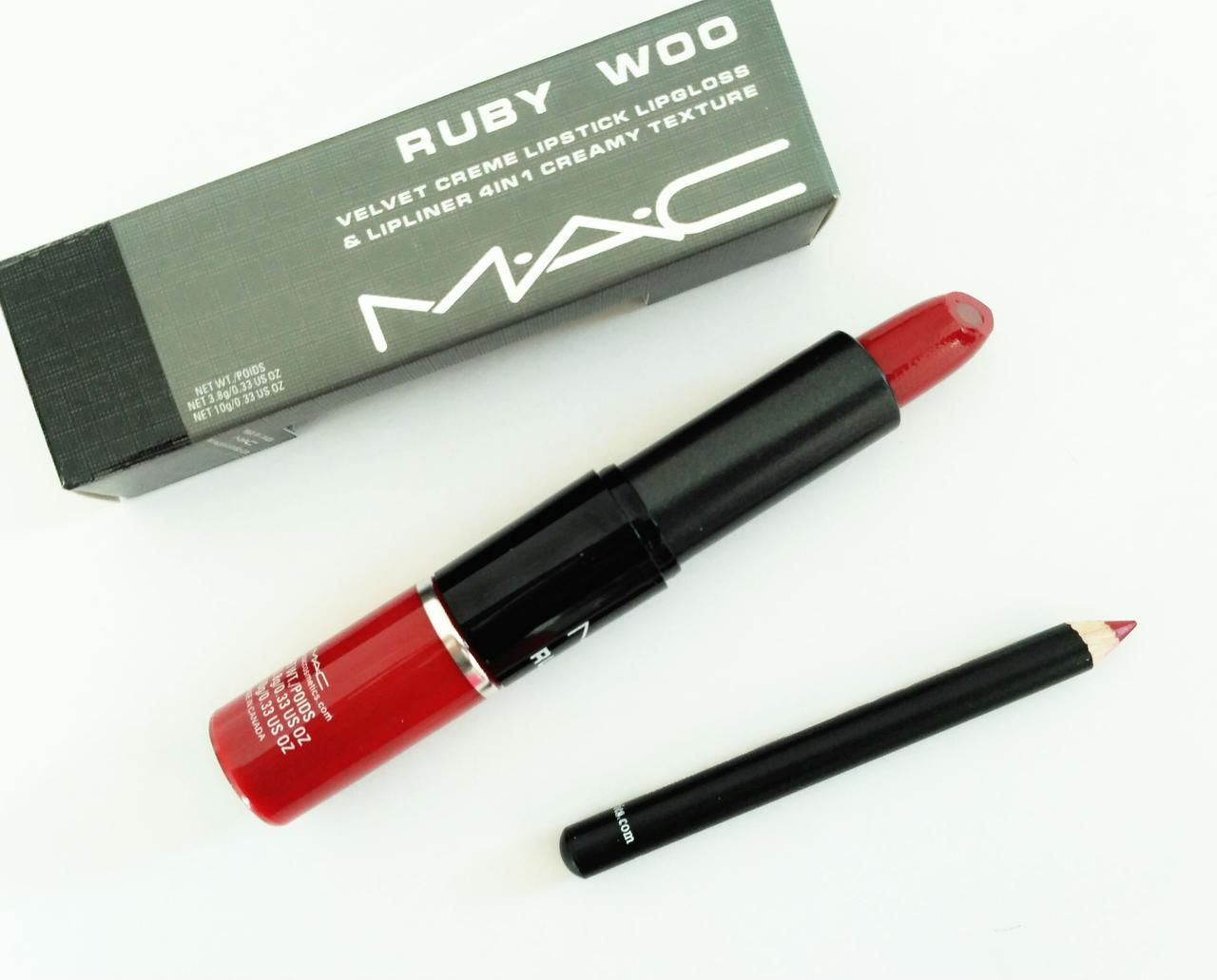 Набор для макияжа губ MAC 4 in 1 Палитра 36 штук