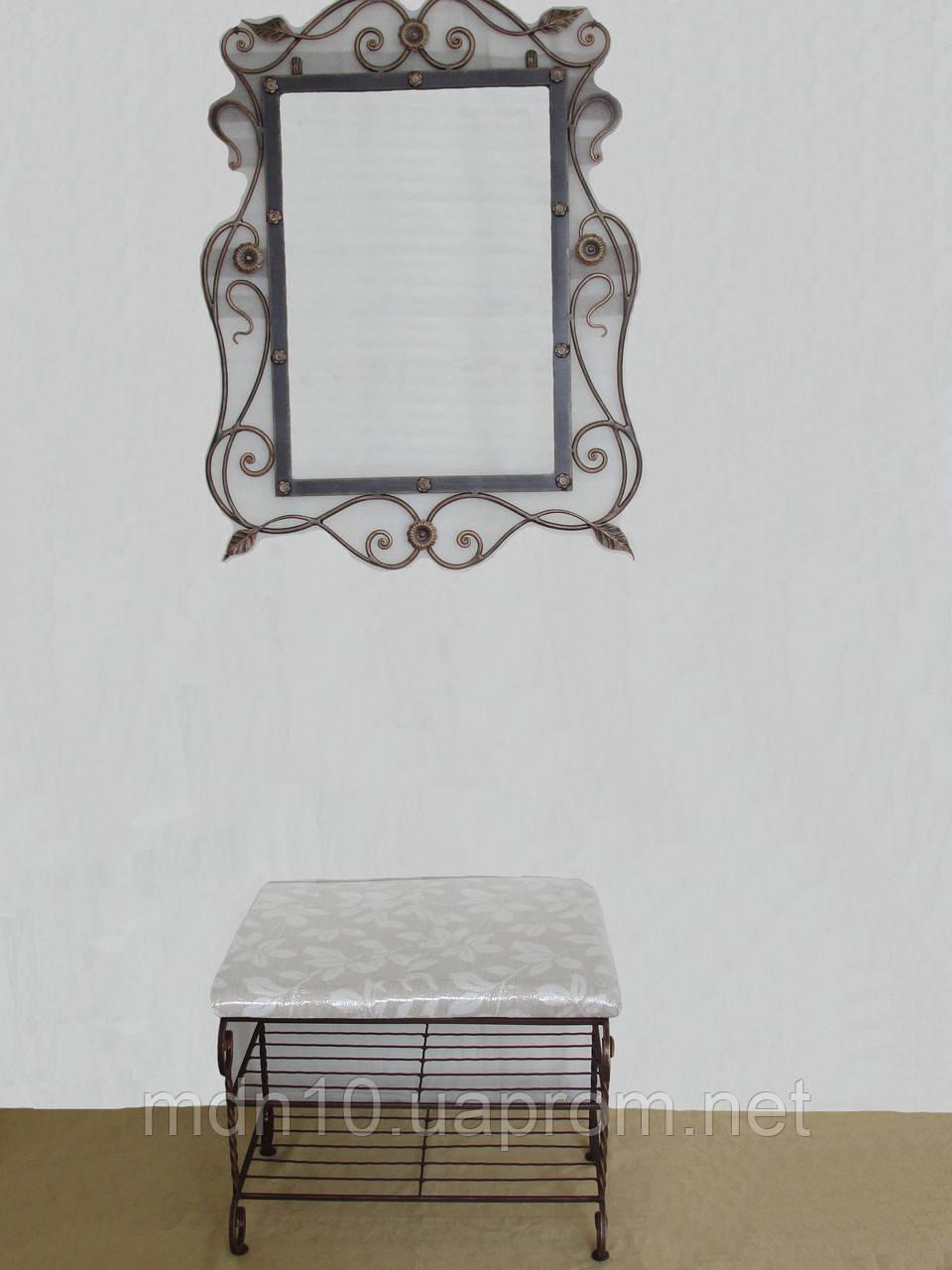 """Кованый набор мебели в прихожую  -  024 - TM """"Modnastal"""" - художественная ковка и металлоконструкции в Хмельницком"""