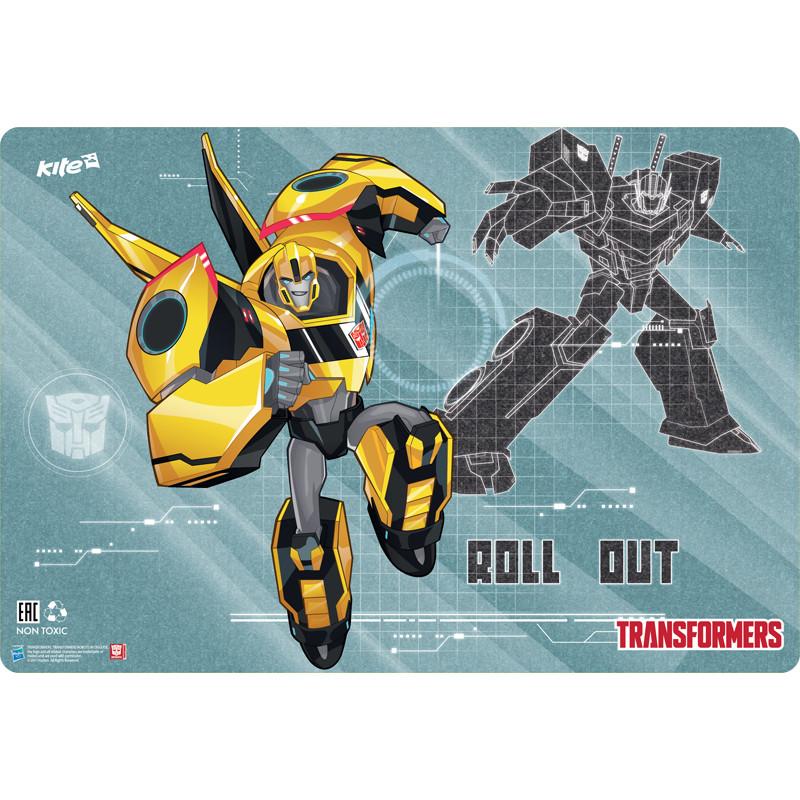 Подложка настольная (Transformers, Kite, 42,5x29 см, TF17-207) - polosatiy.com.ua в Киеве