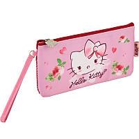 Пенал мягкий Kite 2 отд. Hello Kitty HK17-664