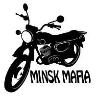 Виниловая наклейка на авто - Минск мафия 2