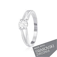 Серебряное кольцо с цирконием SWAROVSKI ZIRCONIA К2С/704 - 16,8