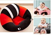 """Манеж-Кресло для малышей """"Неуползайка"""". Красный"""