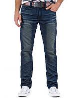 Стилизованные брюки джинсовые мужские  28