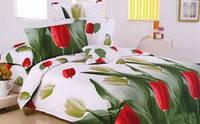 Комплект постели двухспальный, сатин