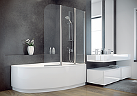 Шторка для ванны  Besco PMD Ambition - 3 123x140