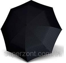 Брендовый мужской зонт полный автомат Knirps T3 Men's Prints Kn898857401, черный