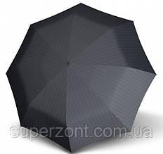 Мужской зонт в полоску, полный автомат Knirps T3 Men's Prints 7601 Kn898857601, черный