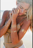 Мерцающие татуировки Shimmer, флеш тату
