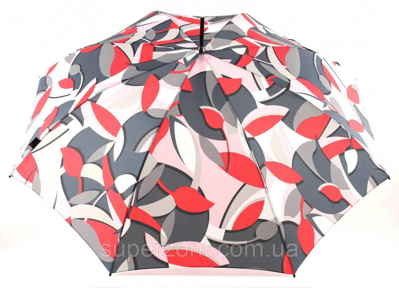 Женский зонт-трость полуавтомат Knirps T.703 Madagascar Sand UV Protection Kn96 3703 8201, разноцветный
