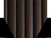 Пробковый компенсатор (порожек) RG-101 Эбони (чёрный)