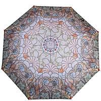 Стильный женский зонт полуавтомат ZEST (ЗЕСТ) Z23625-4093 разноцветный