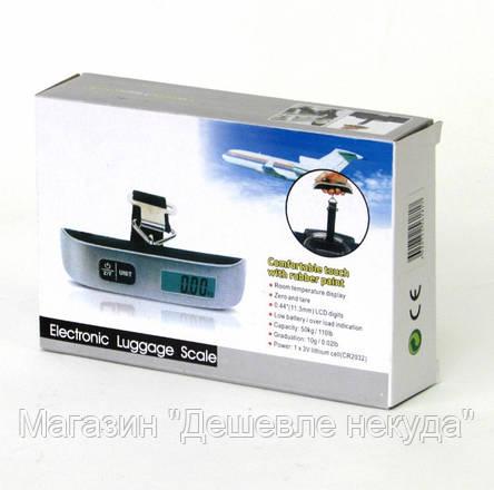 Весы ACS S 004 50KG LCD кантер для багажа!Опт, фото 2