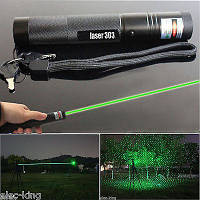 Зеленая мощная лазерная указка Laser 303 лазер!Акция