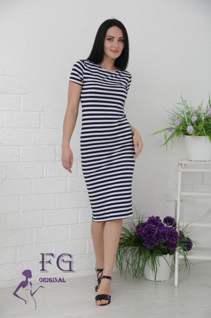 5171c6856f6 Цвета: полосатый принт (тельняшка) Длина платья от плечевого шва: 105 см