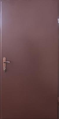 Входная дверь Форт Техническая металл/металл RAL 8017 860х2050