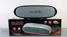 Портативная колонка WS-2517BT .Bluetooth MP3,FM, MicroSD!Опт, фото 2