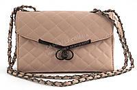 Оригинальный стеганый женский клатч-сумка Б/Н art. 923 розовый