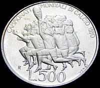 Монета Сан-Марино. 500 лир 1990 год