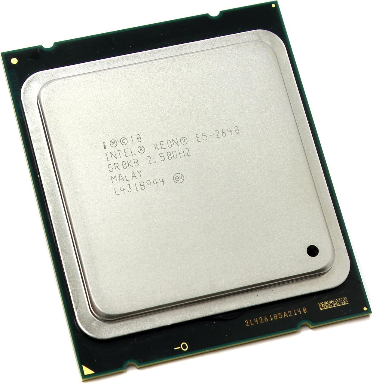 Процессор Intel Xeon E5-2640 2.5-3.0 GHz, 6 ядер, 15M кеш, LGA 2011