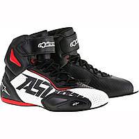 Обувь Alpinestars FASTER-2  black/white/red Vented 41(8.5)