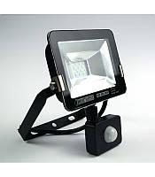 Светодиодный прожектор Horoz 10w с датчиком движения