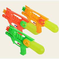 Водный пистолет M-37  23см, 3 цвета, в пакете 17-30см