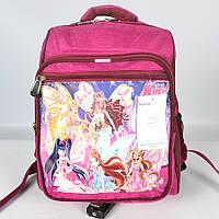 Модний   дитячий  шкільний рюкзак  українського   виробництва  -  WINX