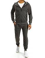 Спортивный костюм мужской черный  XL