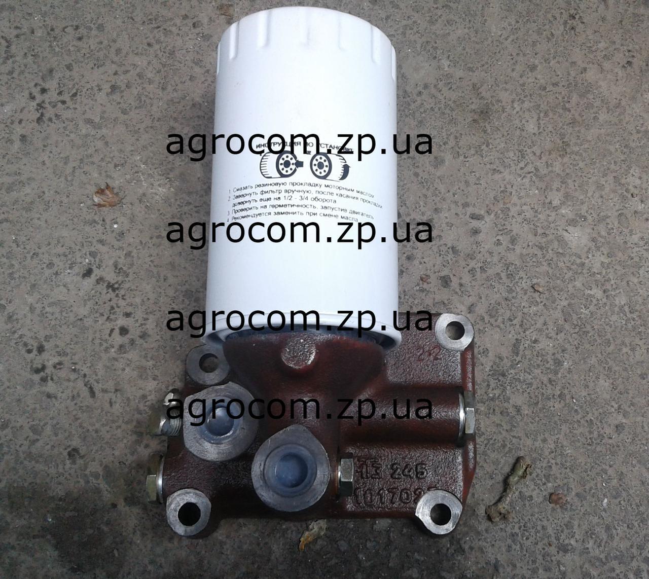 Корпус масляного фильтра МТЗ, Д-240, Д-245
