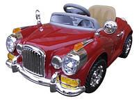 Детский электромобиль Cabrio Retro на аккумуляторе с пультом управления +МР3 (Красный)