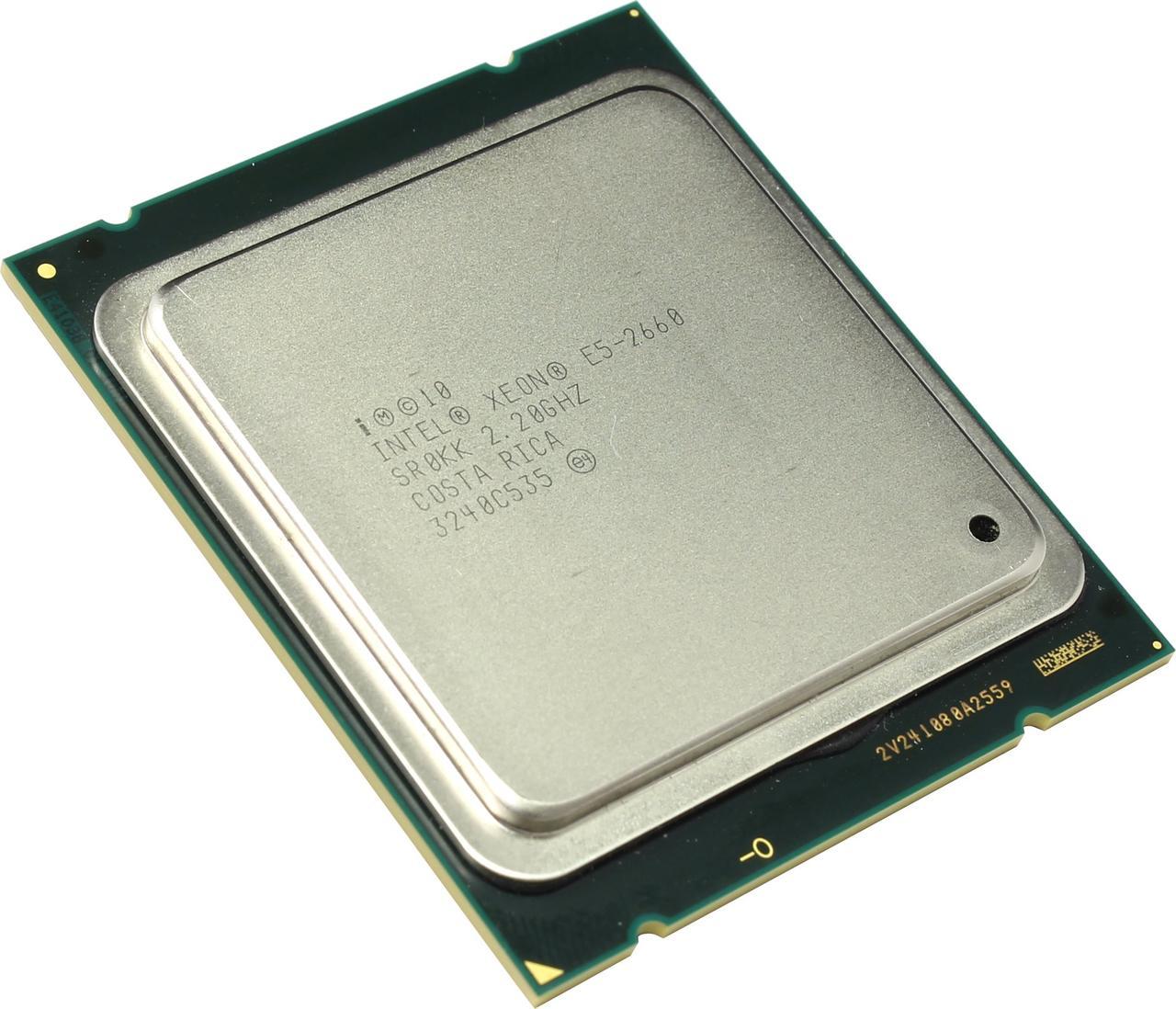 Процессор Intel Xeon E5-2660 2.2-3.0 GHz, 8 ядер, 20M кеш, LGA2011