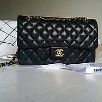 Кожаная сумка Шанель, классика 2.55 25 см