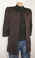 Стильный демисезонный кардиган-пиджак для девушки