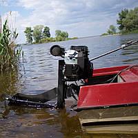 Мотор-болотоход лодочный MRS-24 HP (подвесной, 24 л. с., двухцилиндровый,  электростартер)